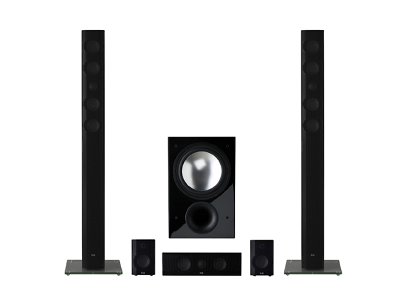 Bose 123 Home Theater System 7 1